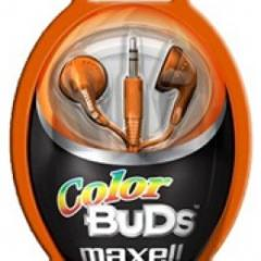 Audifonos Maxell Color Buds 3.5mm Colores Surtidos