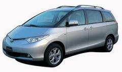 Automóviles minivans, Previa