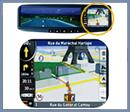 Espejos Retrovisores con GPS