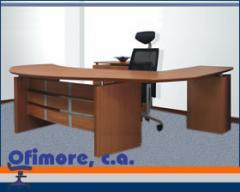 Muebles de oficina, Escritorio gerencial línea rudni