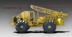 Máquinas de perforación, de pozos para la construcción
