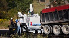 Colocación de asfalto, RP-170
