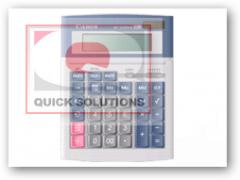 Calculadoras CANON; CANON 1210 Hi