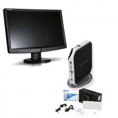 Acer Spire Desktop + Monitor LCD