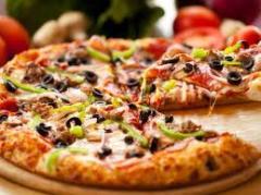 Pizza Chicken Alfredo