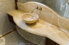 Baño de Marmol Blanco