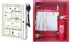 Sistema de detección, extinción y alarmas contra incendio