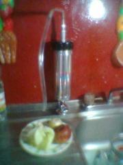 Filtro purificador y mini planta ozonizadora de