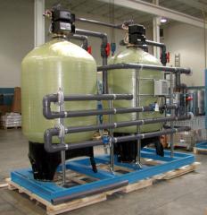 Suavizador de agua industrial