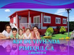 KIT DE VIVIENDA PIMEQUI C.A