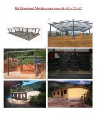 Kit Estructural pata Viviendas Prefabricadas