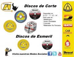 Productos Abrasivos Discos, Lijas, Pierdas
