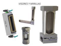 VISORES MIRILLAS VALVULAS DE NIVEL PARA TANQUES
