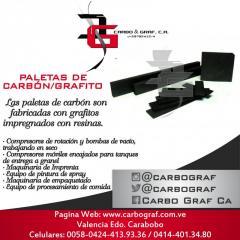 PALETAS DE CARBÓN/GRAFITO: