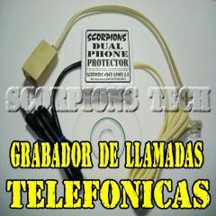 Grabador Telefonico Para 2 Lineas. Grabadora Para