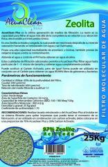 AcuaClean  Zeolita Natural Carga  para Filtros Tratamiento de Agua