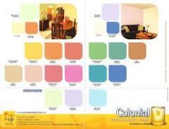 PINTURAS de caucho / Esmalte Quimicolor y Venezolana de Pinturas