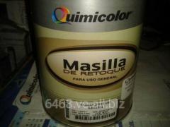 Masilla Retoque Beige Quimicolor 1/4 Gl Metal Y Madera