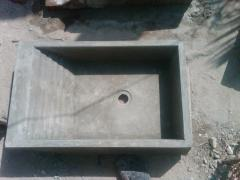 Batea de concreto