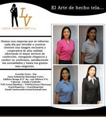 Uniformes administrativos, empresariales ejecutivos para damas y caballeros