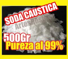 SODA CAUSTICA AL 99%, HIDROXIDO DE SODIO,