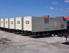 Generador de potencia electrica caterpillar de xq 2000kw 3516b diesel