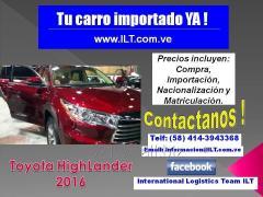 Importa TU  Carro nuevo YA !!!