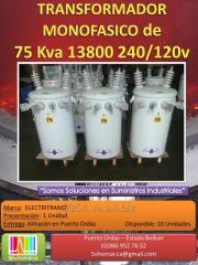 Transformador Monofasico en Aceite de 50 KVA