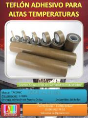 Teflon Con Adhesivo 0.006 Industrial De Alta