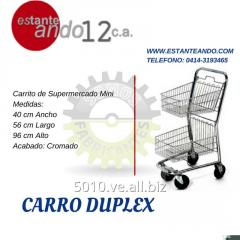 [Copy] CARRO DUPLEX CROMADO