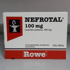 Nefrotal 100 mg x 14 tab (losartan potasico)