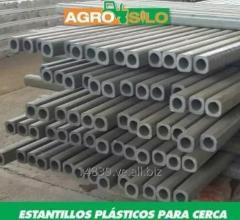 Postes Plásticos Para Cerca En Fabricados En Pvc Y