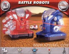 Robot - Battle Robot rojo o azul