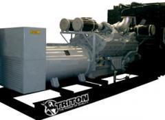 Planta de electricidad de 2000kw cummins OC2000