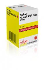 ACIDO ACETIL SALICILICO SOLGEN