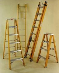 Escalera de Fibra de Vidrio