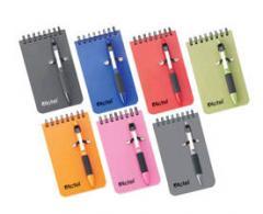 Mini libreta con bolígrafo GS-SP-ST28