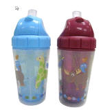 Vajilla ABC Fun Insulated Straw Cup