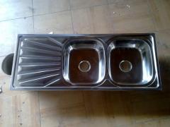 Fregaderos de acero inoxidable