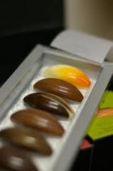 Bombones de Chocolates con Frutas Secas