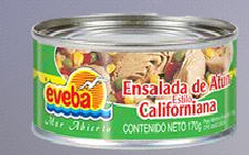 Ensalada de Atún Estilo California