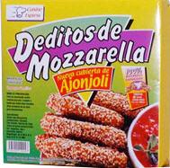 Palitos de Mozzarella con Ajonjolí