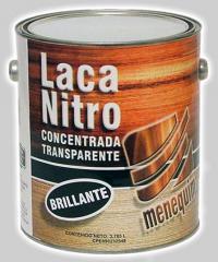 Laca Nitro Concentrada Transparente Brillante