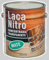 Laca Nitro Concentrada Transparente Mate