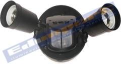 Base para Reflector Par 38 Doble con Sensor de