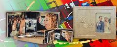 Mini Photobook 15x20 cm size 40. Home Initials