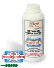 Corrector concentrado de deficiencias minerales, Byo-complejo micro