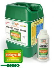 Energizante vegetal enriquecido, Melagro-40