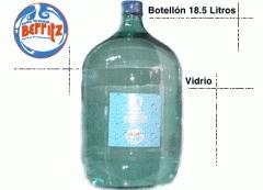 Agua mineral, botelon 18,5 litros