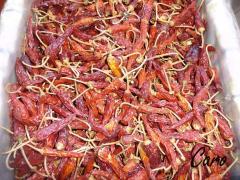Pulpa de ají picante, Cayena